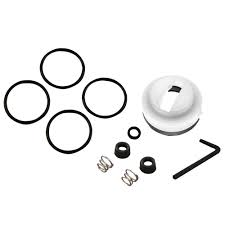 satin delta kitchen faucet repair kit wide spread two handle side