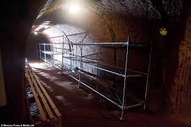 the shelter see inside the secret tunnels of britain s biggest air raid