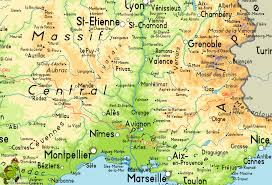 Map Of Lyon France by Gr6