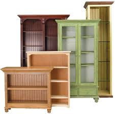 unfinished wood bookcase kit bookcases unfinished furniture wood with doors contemporary best 25