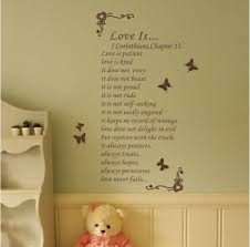 flower wine butterfly with words about wall decal vinyl home