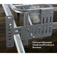Headboards And Footboards For Adjustable Beds by Arch Platform Bed Frame Headboard Footboard Brackets At Inside