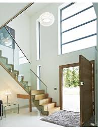 double height light entrance hall and stairs pinterest