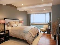 modern master bedroom with comfy king size bed and cotton