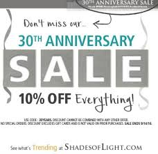 shades of light discount coupon coupon for shades of light home design ideas