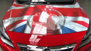Car Bonnet Flags Brexit Bites U2013 Psa Announces 400 Vauxhall Job Cuts Already
