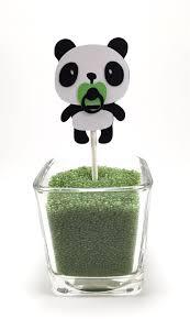 panda cupcake toppers panda bear decor panda birthday decor