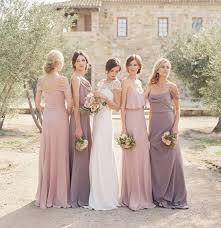 bridal party dresses coordinating bridesmaid dresses the chef