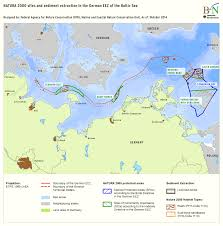 Baltic Sea Map Bfn Sand And Gravel Extraction