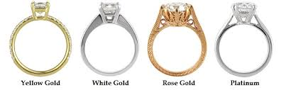 Wedding Ring Metals by How To Use Precious Metals In Your Custom Diamond Ring Mark