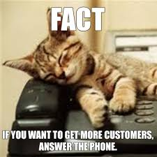 Answer Phone Meme - call handling best practices 5 tips for all employees