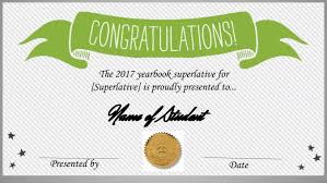 we made a free superlative certificate template and how you can too