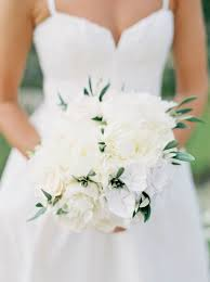 White Wedding Bouquets 465 Best Ivory White Wedding Bouquets Images On Pinterest