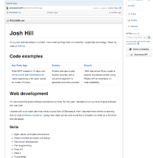 Attached File Is My Resume Using Github Cvs For Developers U2013 Makers Academy