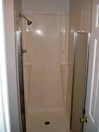 One Piece Bathtub Shower Units One Piece Fiberglass Shower Stalls Bathtub Combination Home Gym