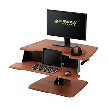 Ergonomic Sit Stand Desk Eureka Ergonomic Height Adjustable Sit Stand Desk Top