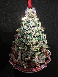 white house ornaments temporary exhibit history