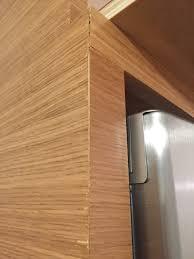 what are veneer cabinets more rift oak veneer cabinet concerns