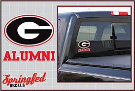 uga alumni sticker bulldogs alumni clear vinyl decal car truck