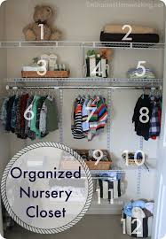 how to organize a baby u0027s closet embracing homemaking