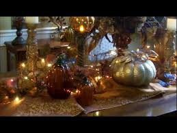 thanksgiving fall dining room table decor youtube