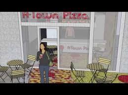 Pizza Restaurant Interior Design A Town Pizza Restaurant A Commercial Interior Design Project