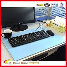 bureau en gros souris usine en gros pu en cuir bureau tapis 24 x 16 bureau pad