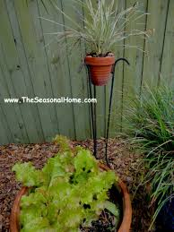 Gazing Ball And Stand Mother U0027s Day Brunch In A Up Cycled Garden The Seasonal Home