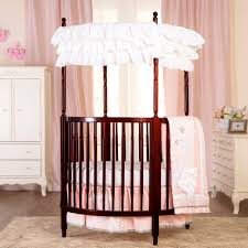 bedroom wonderful round cribs for nursery furniture ideas