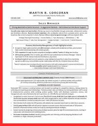 Account Manager Sales Resume Perfect Sales Resume Good Resume Format