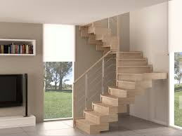 Open Staircase Ideas Outstanding Curved Open Staircase With Wooden Foot Stairs And