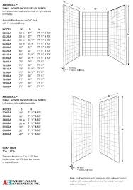 What Is Standard Shower Curtain Size Superb Standard Shower Stall Size Marble Stall Standard Shower