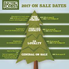 2017 ticket information u0026 on sale electric forest