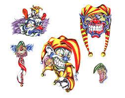 tribal clown wallskid