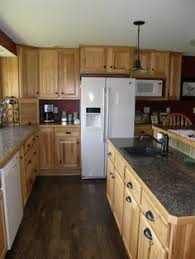 denver hickory kitchen cabinets denver hickory stock custer traditional kitchen other metro