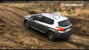peugeot 4 by 4 peugeot 2008 grip control youtube