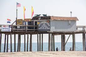 oc fishing pier jolly roger pier amusements ocean city md