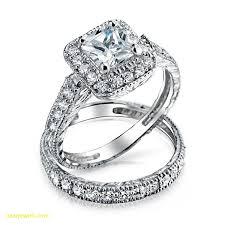 awesome wedding ring wedding ideas silver wedding sets engagement ring set cz st rset