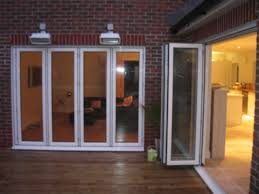 Patio Bi Folding Doors by Sliding Doors Exterior Glass