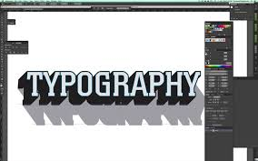 tutorial how to make 3d typography templates in adobe illustrator