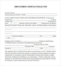 Certification Letter Sle Template Employment Verification Letter Template Word