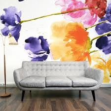 multi floral wall mural by digitex home decor design show multi floral wall mural by digitex home