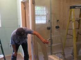 backyards glass shower door handle installation picture album