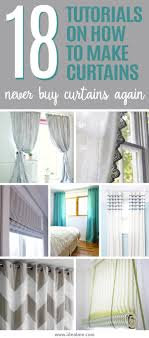 how to make curtains 18 tutorials on how to make curtains ideal me