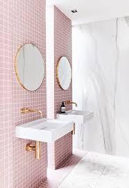 bathroom wall ideas pinterest best 25 pink bathroom tiles ideas on pinterest pink bathroom realie