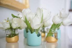 jar vases diy food jar vases