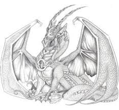 only cool drawings of dragons dragon drawing by arkaedri on