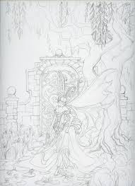 secret garden sketch by tinadh on deviantart