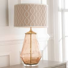 Glass Table Lamp Young House Love Diamond Patterned Glass Table Lamp Shades Of Light
