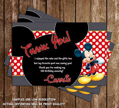 Mickey Mouse Birthday Invitation Card Novel Concept Designs Disney Mickey Mouse Red Chalkboard